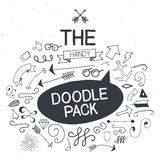 Vector doodle pack. Royalty Free Stock Photography
