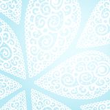 Vector doodle twirl drops background Stock Images