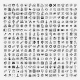 324 Vector Doodle Web Icons Stock Image