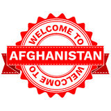 Vector Doodle of WELCOME TO COUNTRY AFGHANISTAN . EPS8 . Royalty Free Stock Photography