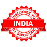 Vector Doodle of WELCOME TO COUNTRY INDIA . EPS8 . Royalty Free Stock Photography
