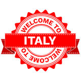 Vector Doodle of WELCOME TO COUNTRY ITALY . EPS8 . Royalty Free Stock Photo