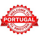 Vector Doodle of WELCOME TO COUNTRY PORTUGAL . EPS8 . Royalty Free Stock Photo