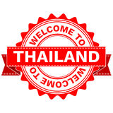 Vector Doodle of WELCOME TO COUNTRY THAILAND . EPS8 . Stock Images