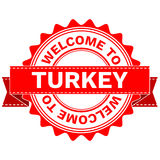 Vector Doodle of WELCOME TO COUNTRY TURKEY . EPS8 . Stock Photos