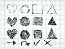 Vector doodles Royalty Free Stock Images