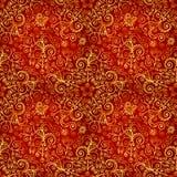 Vector doodles vintage ornate seamless pattern Stock Photos