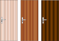 Vector door. Architectural details -  illustration Royalty Free Stock Images