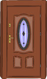 Vector door. Royalty Free Stock Photos
