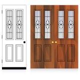 Vector Door Design Stock Photos