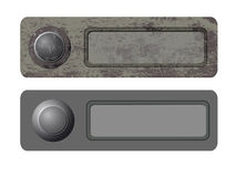 Vector doorbells Royalty Free Stock Images