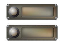 Vector doorbells Stock Photos