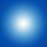 Vector dot gradient blue halftone pattern abstract background concept Stock Photos