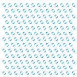 Vector dots abstract background. Abstract  blue circles on white background Royalty Free Stock Photo
