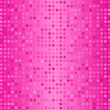 Vector Dots on Pink Background. Halftone Texture Royalty Free Stock Image