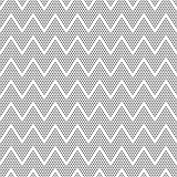 Vector dots symmetric seamless pattern. Vector black dots symmetric seamless pattern in white background Royalty Free Stock Photo