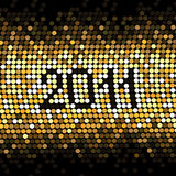 vector Dotted New year stock illustration