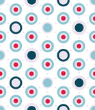 Vector dotted seamless pattern in aqua colors Royalty Free Stock Photography