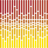 Vector dotted straight lines background Royalty Free Stock Images