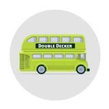 Vector double decker bus england icon Stock Photography