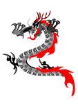 Vector dragon Royalty Free Stock Photos