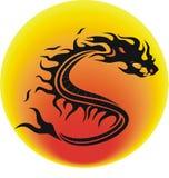 Vector dragon Stock Photo