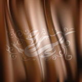 Vector of Dragon Pattern Silk Fabric Background Royalty Free Stock Photography