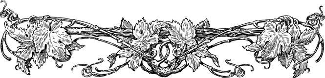 Grapevine stock illustration
