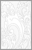 Cirebon Floral Set. Vector drawing of cirebon traditional floral set vector illustration