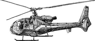 Helicopter 2 Royalty Free Stock Photo