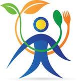 Fresh restaurant logo vector illustration
