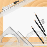 Vector Drawing tools Stock Photos