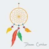 Vector dream catcher color Royalty Free Stock Photos