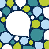 Vector drop background Royalty Free Stock Images
