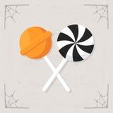 Vector dulce del icono del caramelo Stock de ilustración