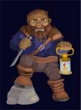 Vector dwarf, men Stock Images