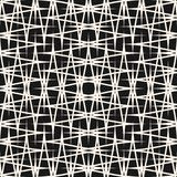 Vector dwarsbroedselpatroon Textuur met het snijden van strepen Stock Foto's