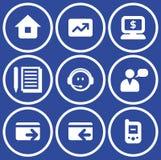 Vector E-commerce Icons Set Royalty Free Stock Photos