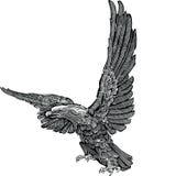 Vector - eagle engraving Royalty Free Stock Photos