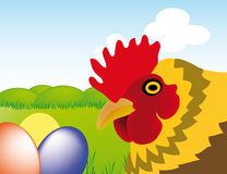 Vector easter Stock Images