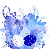 Vector easter background Stock Photography