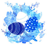 Vector easter background Stock Image