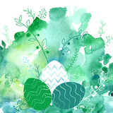 Vector easter background Stock Photo