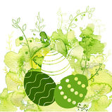 Vector easter background Royalty Free Stock Photos