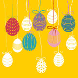 Vector easter background Royalty Free Stock Photography
