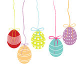 Vector easter background Royalty Free Stock Images