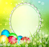 Vector easter background Stock Photos