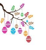 Vector Easter Branch Stock Photo
