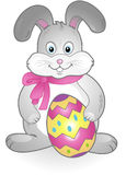 Vector easter bunny Royalty Free Stock Photography