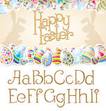 Vector Easter Card Stock Images